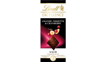 Excellence Noir Amande Noisette Cranberry