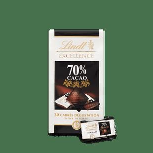 Mini Excellence Noir 70% 165g