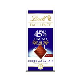 Lindt Excellence Lait 45% 80g