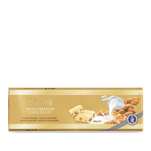 Lindt Blanc Amandes 300g Swiss Premium Chocolate