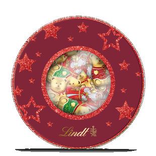 Boîte métal Moulages Noël 400g