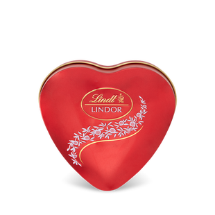 Boîte Métal Cœur Lindor Lait 62g