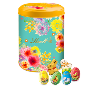 Boîte métal Fleurs mini moulages 650g