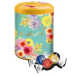 Boîte métal Fleurs Lindor 750g